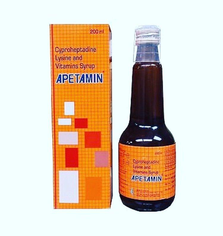 Apetamin Vitamin Syrup 200ml ***New*** Weight Gain ...