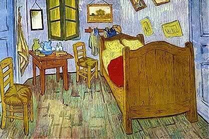 La Chambre De Van Gogh A Arles Cross Stitch Pattern