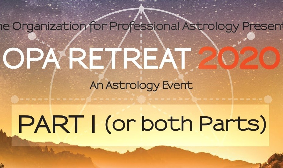 2020 Retreat PART I (or Both Parts) - with MEALS