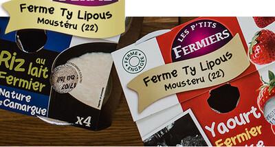 Yaourt a la myrtille sauvage bio 4x125gr