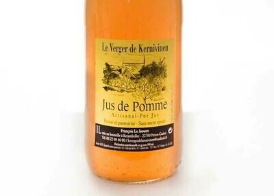 Jus de pomme conversion bio