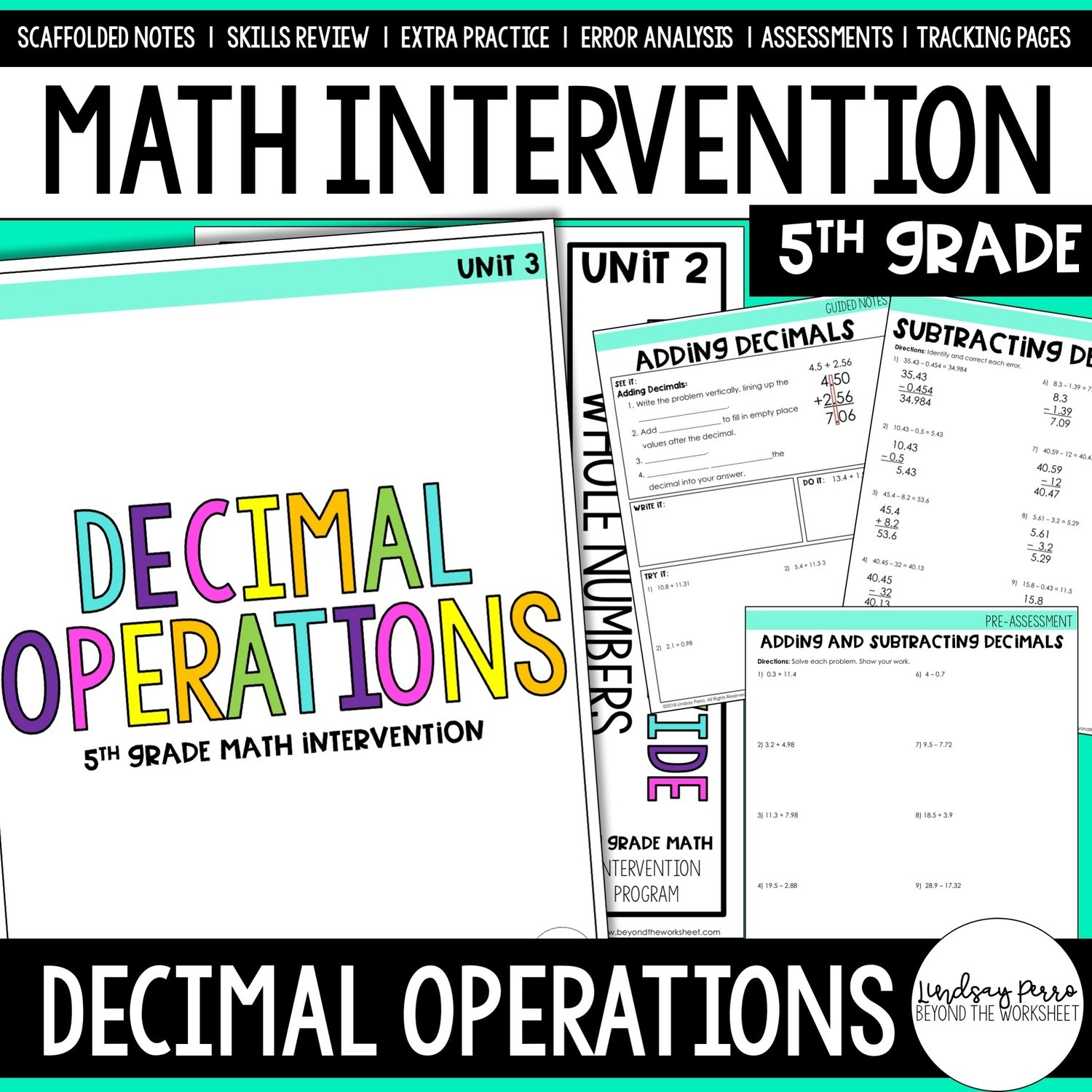 Decimal Operations Intervention Unit