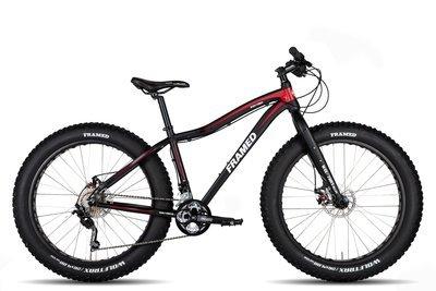 """Framed Wolftrax Alloy 2.0 Deore Fat Bike 26"""" 00006"""