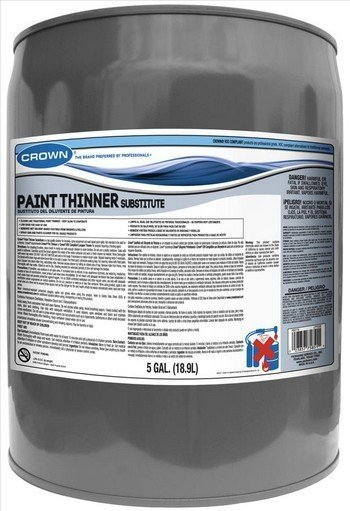 CROWN CL PTSCB M 05 - 5 GALLONS PAINT THINNER SUBSTITUTE FOR CARB