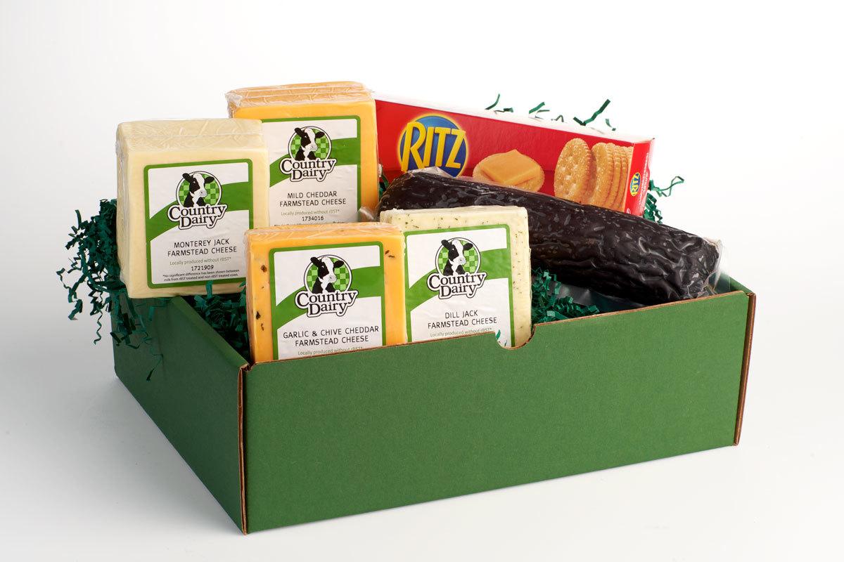 3 lb. Cheese & Sausage Box 00003