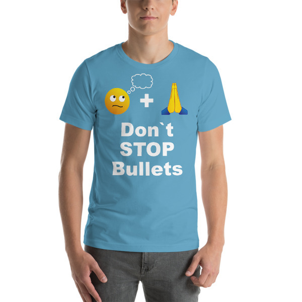 STFND Stop Bullets Sweatshirt Light Pink