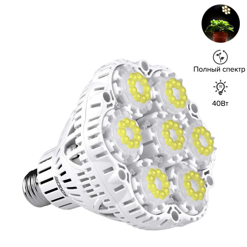 Sansi GROW LED лампа полного спектра 36W 00001
