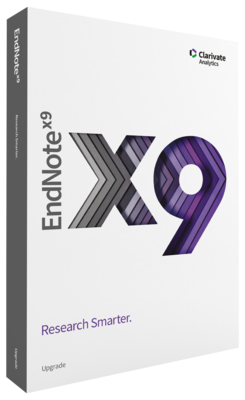 EndNote X9 Upgrade – Download [Win/Mac]