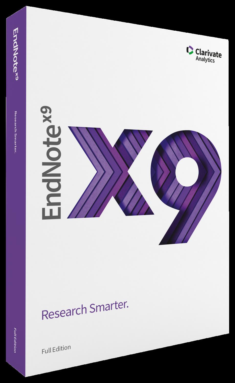 EndNote X9 Single-User – Download [Win/Mac]