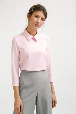 Блузка прямого кроя