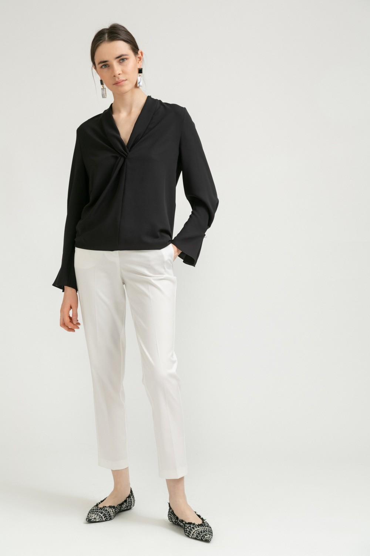Блузка с драпировкой