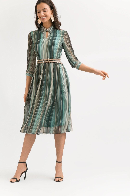 Шифоновое платье А-силуэта
