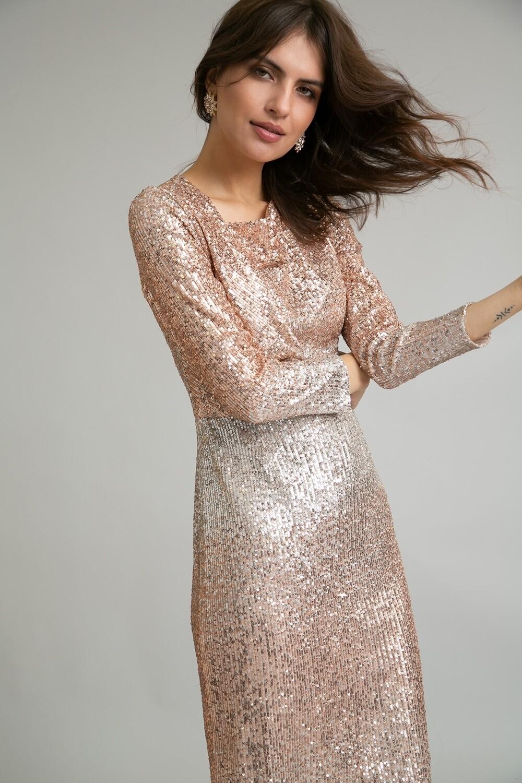 Платье с драппировкой