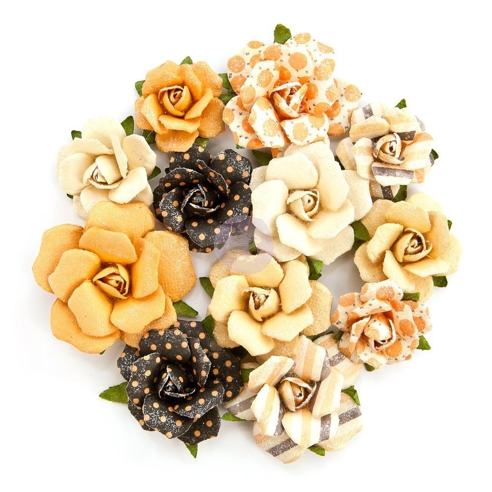 Prima - Amber Moon Flowers - Raven