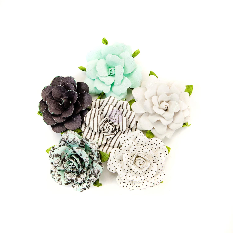 Prima - Flirty Fleur Flowers - Dots & Stripes