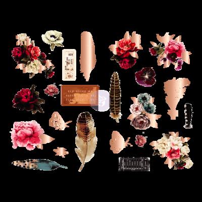 Midnight Garden Chipboard