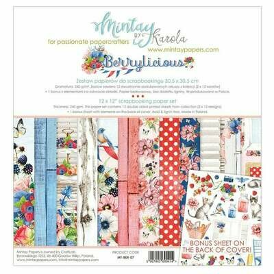 Mintay by Karola - Berrylicious - 12 x 12 Collection Pack