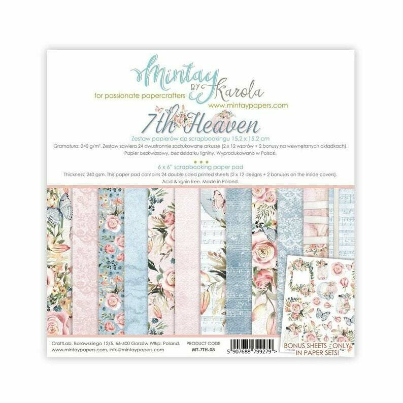 Mintay by Karola - 7th Heaven - 6 x 6 Collection Pack