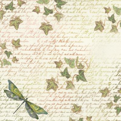 Dragonfly - Napkin - Stamperia Rice Paper Napkin