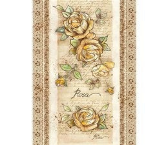 Voyages Flowers by Donatella Rose - A3 -Stamperia Rice Paper
