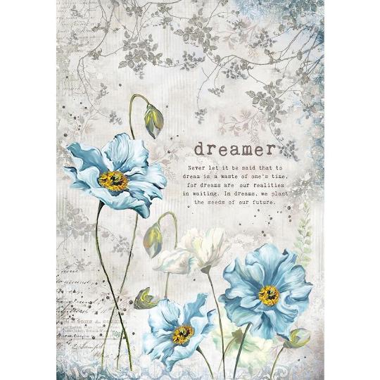 Dreamer - A4 -Stamperia Rice Paper