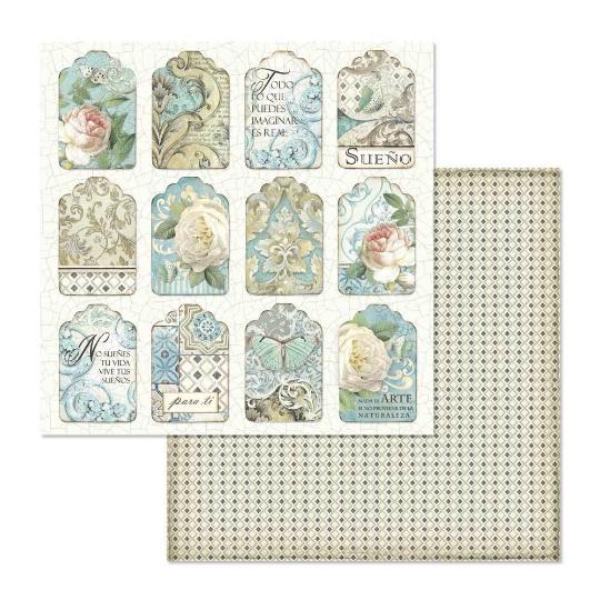 Stamperia Azulejos 12 x 12 Paper Pad