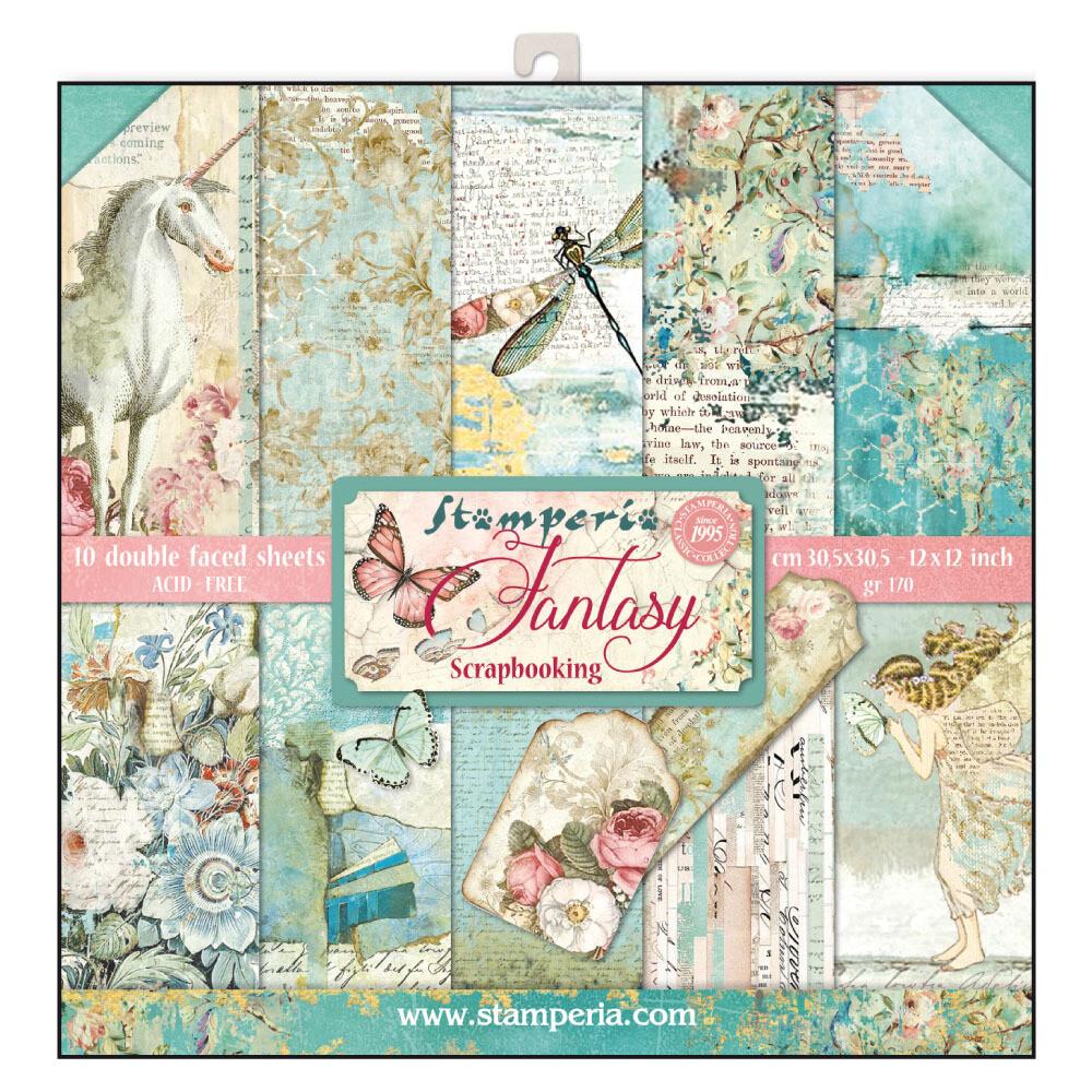 Stamperia Wonderland - 12 x 12 Paper Pad
