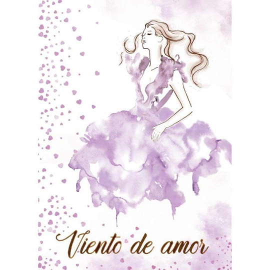 Viento de amor  - Silhouette Art Napkin - Stamperia Rice Paper Napkin