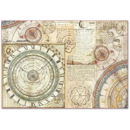 Alchemy Astronomy - XL Stamperia Rice Paper