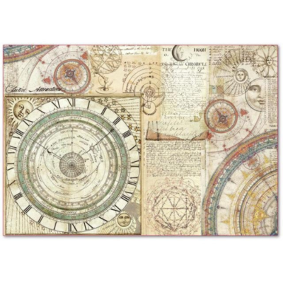 Alchemy Astronomy - XL Stamperia Rice Paper