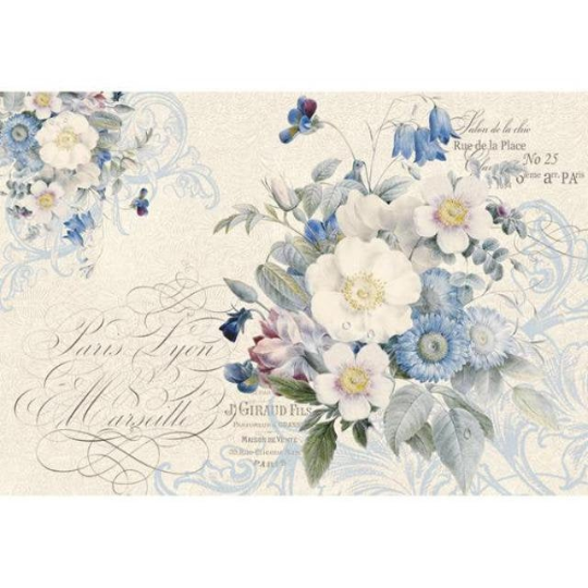 New England Bouquet - XL Stamperia Rice Paper
