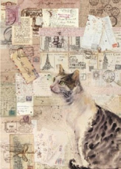Cats - A4 -Stamperia Rice Paper