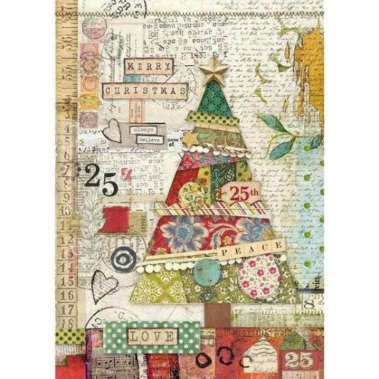 Make A Wish Rice Paper - A4 -Stamperia Rice Paper
