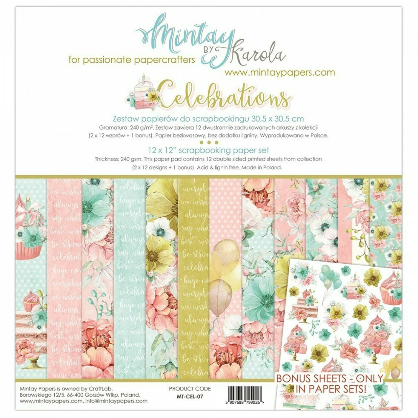 Mintay by Karola - Celebrations - 12 x 12 Collection Pack