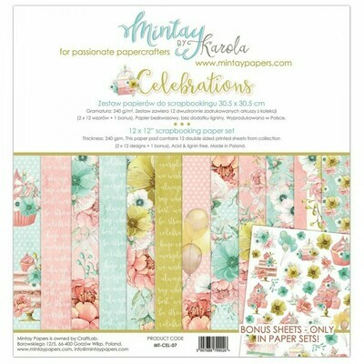 Mintay by Karola - Celebrations - 12 x 12 Collection Pack