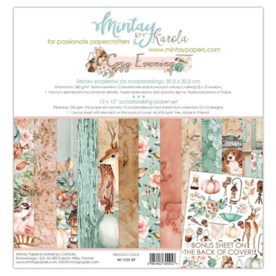 Mintay by Karola - Old Manor - 12 x 12 Collection Pack