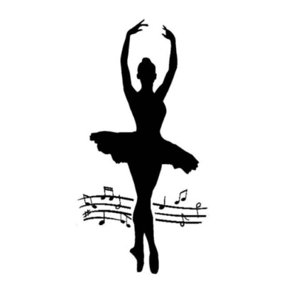Dancer - Thick Stencil -Stamperia Stencil