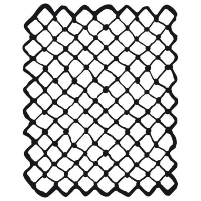Net - Thick Stencil Media -Stamperia