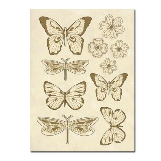 Butterflies - Wooden Frames -Stamperia Wooden Frames