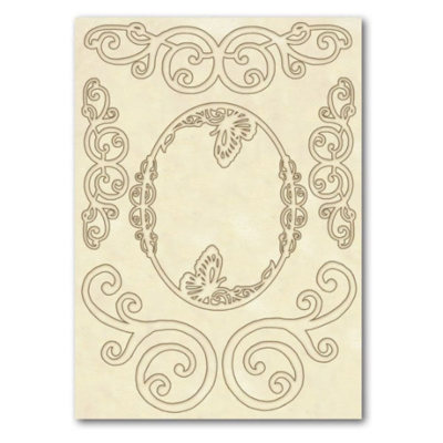 Volutes - Wooden Frames -Stamperia Wooden Frames