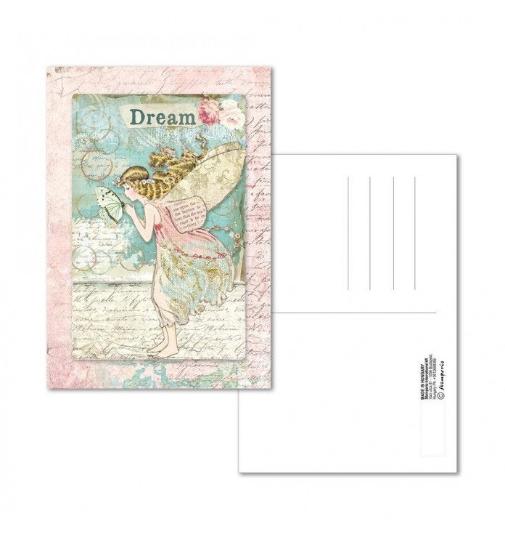 Wonderland Fairy - Postcard - Stamperia