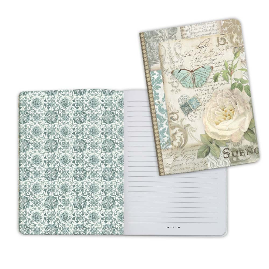 Azulejos Patchwork 1 - A5 Notebook - Stamperia