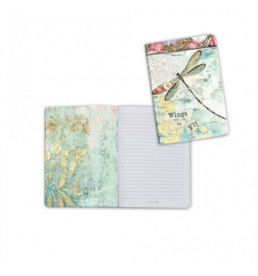 Dragonfly - A6 Notebook - Stamperia
