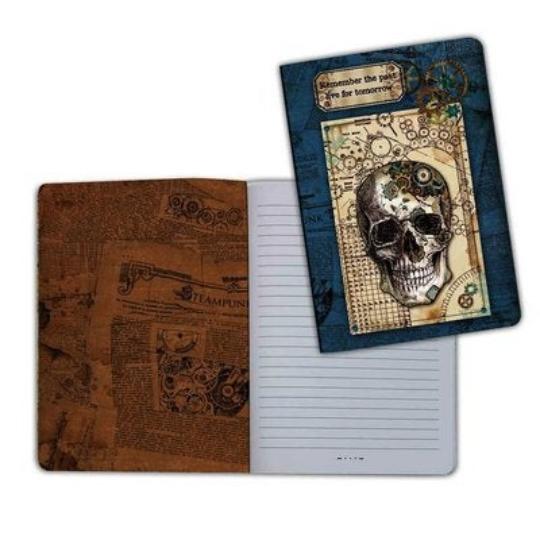Mechanical Fantasy 1 (Skull) - A5 Notebook - Stamperia