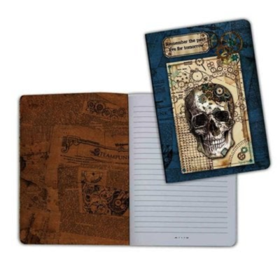 Mechanical Fantasy 1 (Skull) - A5 Notebook - Stamperia