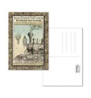 Voyages Fantastiques Train - Postcard - Stamperia