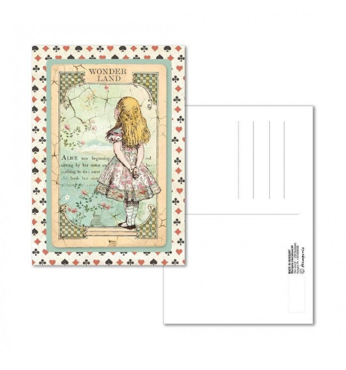 Alice - Postcard - Stamperia
