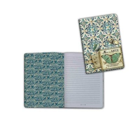 Azulejos Fairy - A6 Notebook - Stamperia