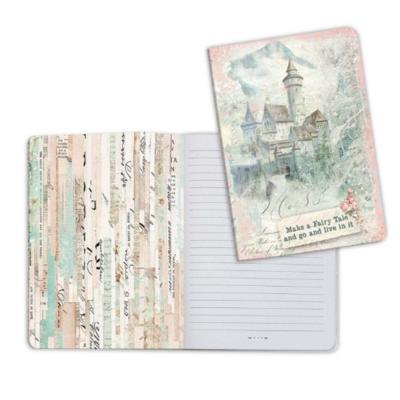 Wonderland Fantasy Castle - A5 Notebook - Stamperia
