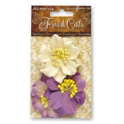 Lilac Gardenia Flowers - Stamperia